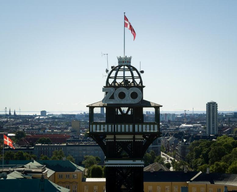 The tower at Copenhagen ZOO
